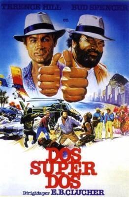 Dos super Dos 1984 Bud Spencer y Terence Hill poster