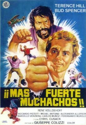 ¡Más fuerte, muchachos! 1972 Bud Spencer y Terence Hill poster