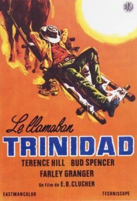 Le llamaban Trinidad 1970 Bud Spencer y Terence Hill poster