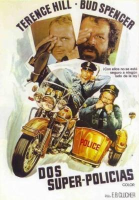 Dos Superpolicias 1976 Bud Spencer y Terence Hill poster