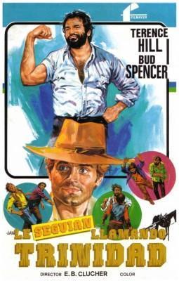 Le seguian llamando Trinidad 1972 Bud Spencer y Terence Hill poster