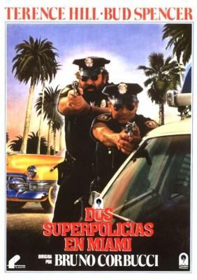 Dos Superpolicias en Miami 1985 Bud Spencer y Terence Hill poster