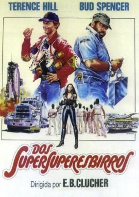 Dos Supersuperesbirros 1983 Bud Spencer y Terence Hill poster