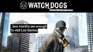 Watch Dogs ironiza con el tamaño de Los Santos