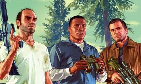 Grand Theft Auto V. El Videojuego de moda.