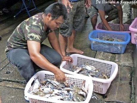 Pescador en Bangkok