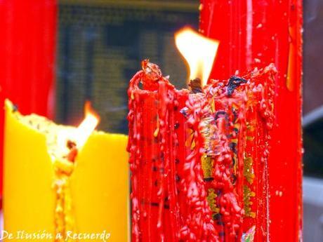 velas templo bangkok
