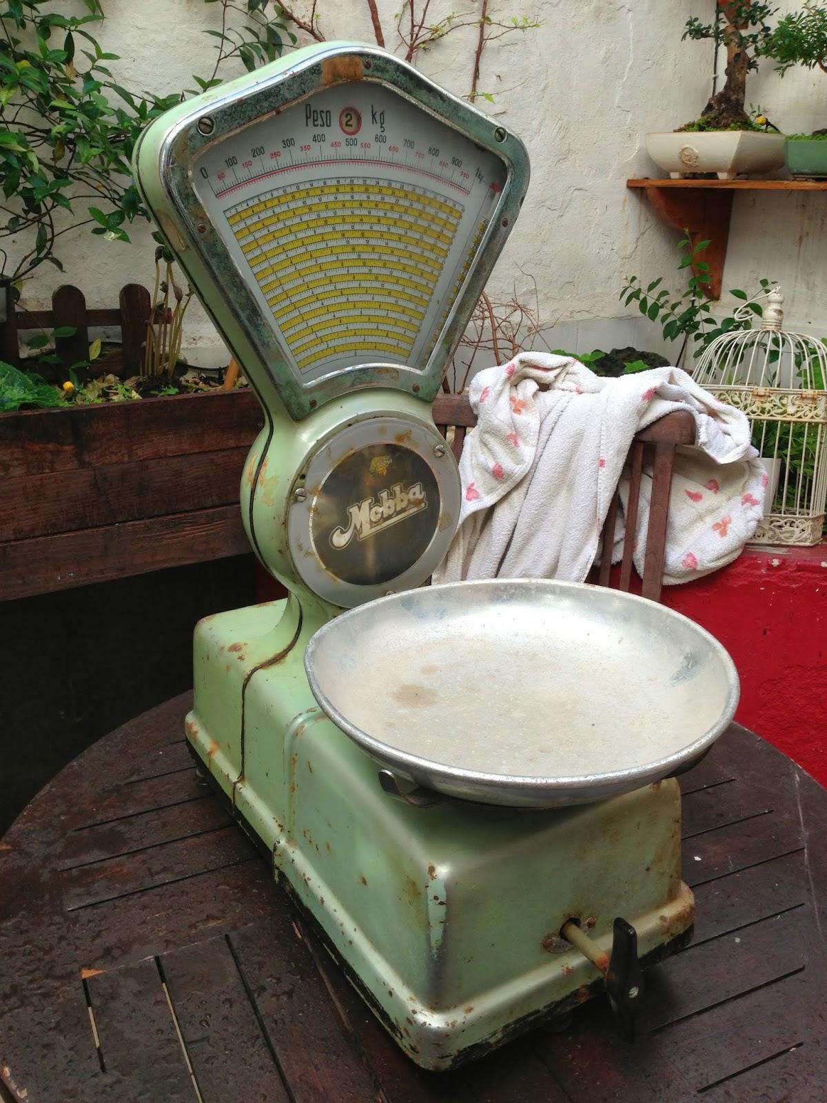 Bascula Baño Vintage:Diy: Restaurando dos básculas antiguas – Paperblog