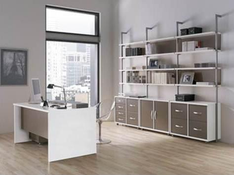 Despacho moderno paperblog for Despacho moderno casa