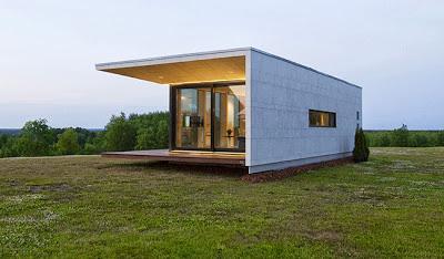 Minicasa modular minimalista paperblog for Casa minimalista economica