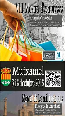 Fiestas de octubre 2013 en la Provincia de Alicante - Fiestas de la Virgen del Pilar