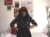 #OOTD: Polka Dots Velvet Flowers