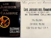 Reseña juegos hambre Suzanne Collins