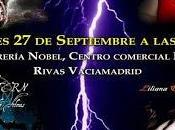 """Presentación primer libro """"Claroscuros"""" Madrid"""