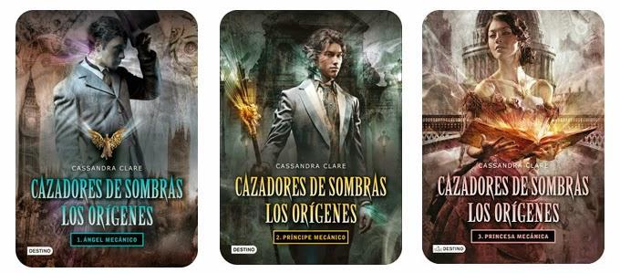 Reseña conjunta #76] Trilogía Cazadores de Sombras: Los Orígenes -sin  spoilers- - Entre Muros de Papel