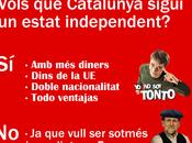 Humor, papeletas consulta independencia gustaría cada actor político