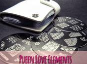 Pueen Love Elements: placas stamping