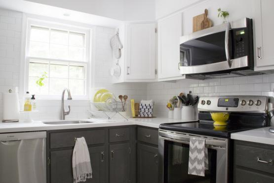 Antes despu s una cocina moderna y fresca paperblog for Una cocina moderna