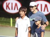 Nadal alienta joven sordo surcoreano convertido promesa tenis