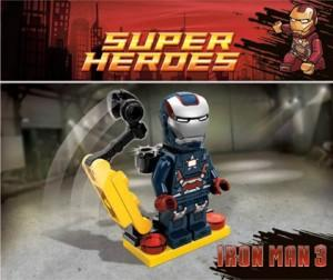 Figura de LEGO Iron Patriot para Lego: Marvel Super Heroes