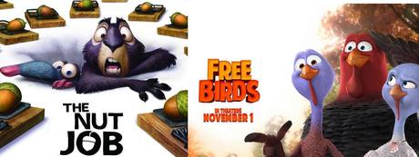 Nuevos téaser-tráiler de 'The Nut Job' y 'Free Birds'