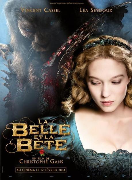 Primer cartel de 'La Bella y la Bestia', de Christophe Gans