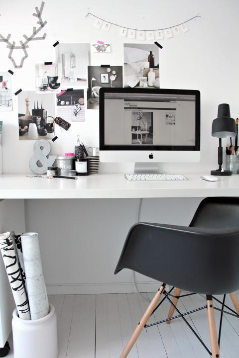 Rincones de trabajo en casa paperblog for Diseno despacho casa