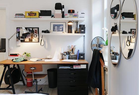 Rincones de trabajo en casa paperblog - Decoracion despachos en casa ...