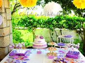 Mesa dulces para bautizo Emma