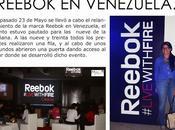 Lanzamiento marca Reebok Venezuela.
