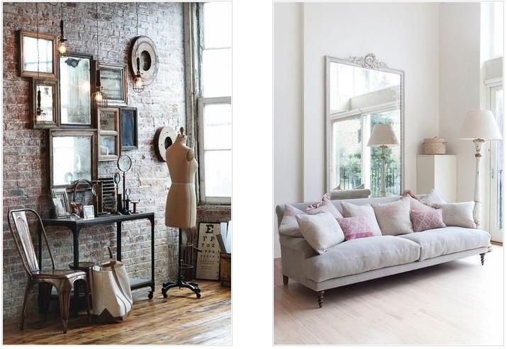 6 tips para decorar con espejos tu espacio favorito for Espejos grandes salon