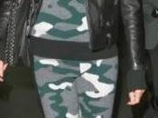 Heidi Klum, rockera camuflaje. Consigue look