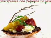 Tapas Originales Delicatessen Taquitos Jamón