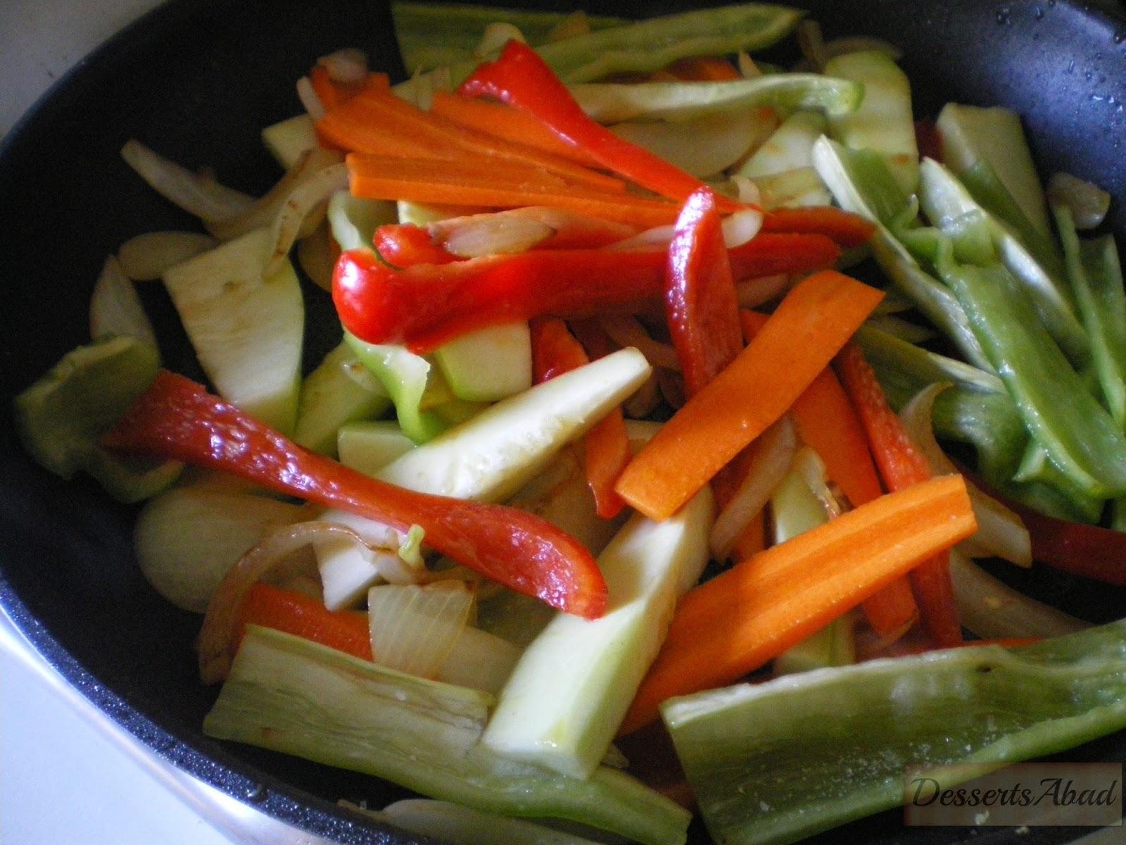 Tallarines Fritos Con Pollo Y Verduras Paperblog