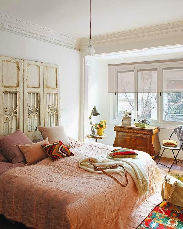 Dormitorio vintage con objetos reciclados paperblog - Decoracion vintage dormitorio ...