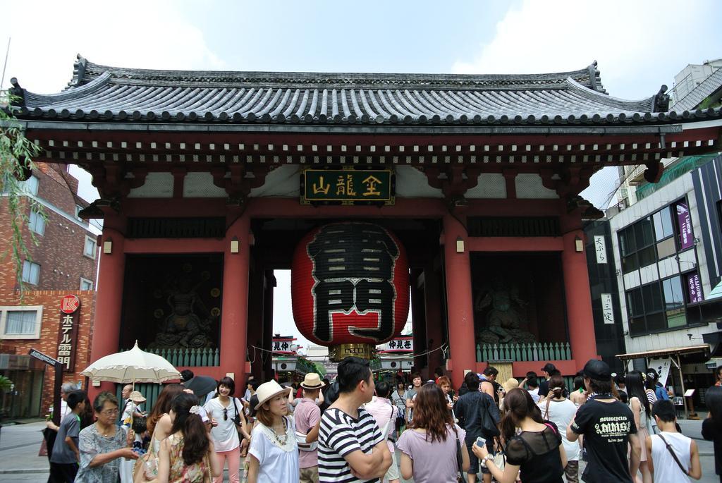 D a 5 asakusa y odaiba paperblog for Puerta kaminarimon
