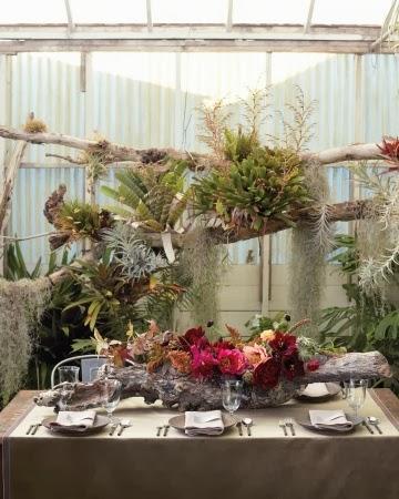 My Wedding Inspiration Troncos De Arboles Como Motivo Decorativo En - Troncos-de-arboles-decorativos