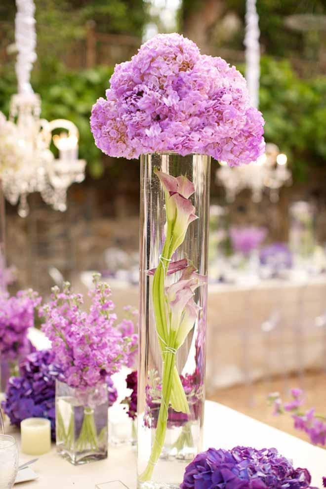 Centros de mesa para bodas con flores - Paperblog