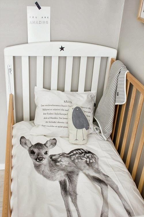 Un dormitorio para un bebe de estilo nordico paperblog for Habitaciones de bebe estilo nordico