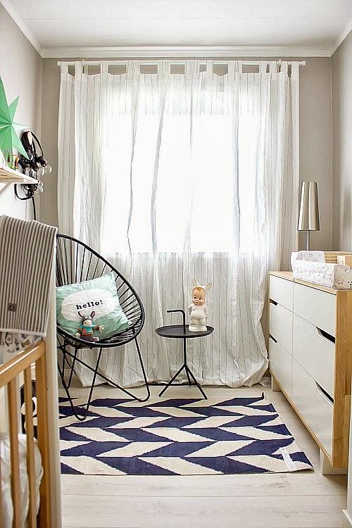 Un dormitorio para un bebe de estilo nordico paperblog for Estilo nordico para dormitorio