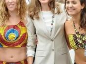 Letizia: blanco, beige serpiente, Banderita. Vídeo