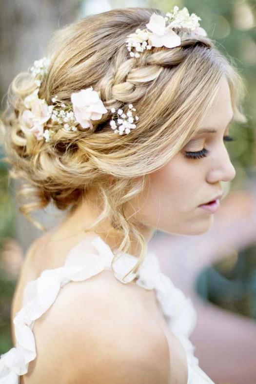 Peinados De Novia Con Cabello Corto Peinados Para Novia Con Pelo - Peinados-para-novias-pelo-corto