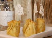 receta: hatillos mozzarella jamón serrano reducción vinagre Módena- recipe: mozzarela jamon bundles