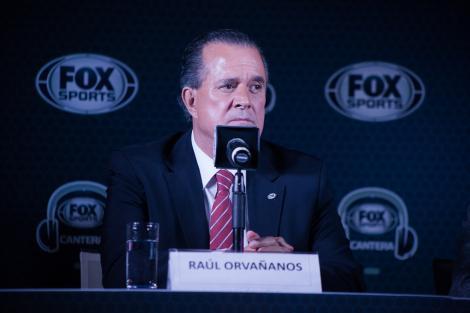 Presentacion CANTERA FOX SPORTS_Raúl Orvañanos