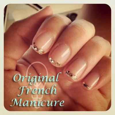 Manicura francesa a todo color paperblog - Manicura francesa colores ...