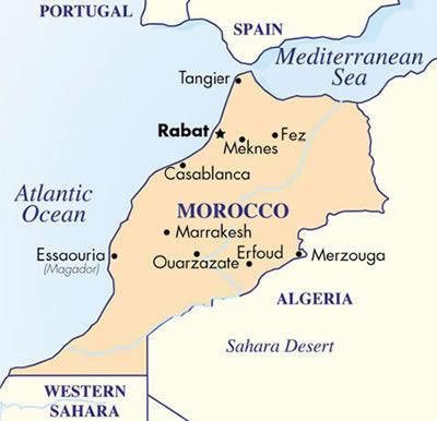 Mapa De Marruecos Ciudades.Primeras Anecdotas Desde Suelo Africano La Gran Ciudadela