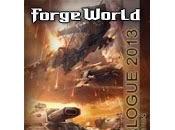 Nuevo catálogo Forge World 2013, segunda edición, disponible