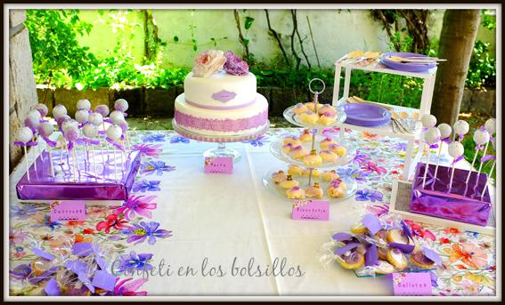 Mesa dulce de bautizo - Imagui