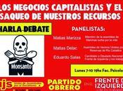 Charla Debate Eduardo Salas: negocios capitalistas saqueo nuestros recursos naturales