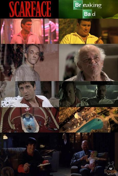referencias scarface breaking bad